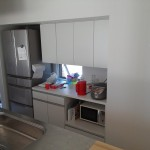 M邸キッチン背面収納